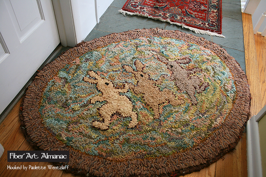 Paulette Wentzlaff Rug Hooker And Wool Dyer Midwest