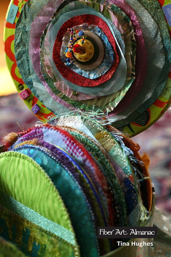 box of quilts