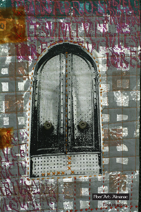 Roman door closeup
