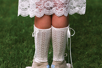 Susan Simonton's fine lace knitting