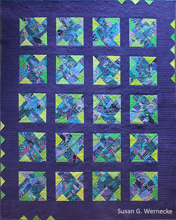 A quilt for Chloe.