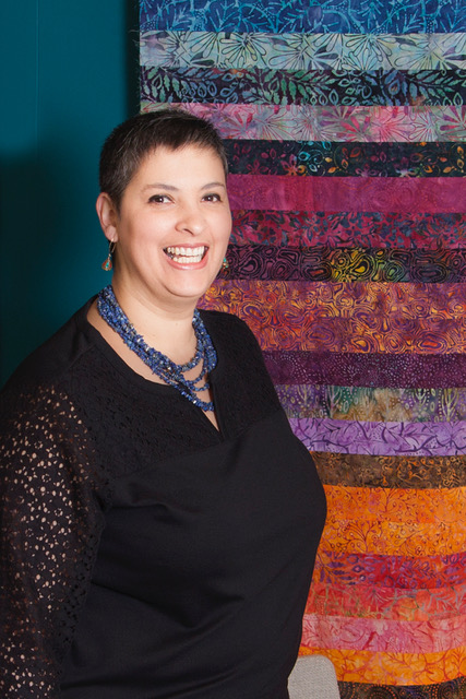 Maday Delgado: A free spirited quilter