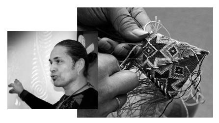Weaving Demonstration by Karl Rangikawhiti Leonard