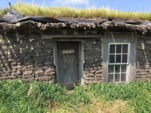 Dugout Sod House